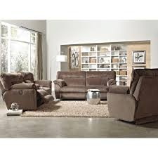 Sofa Sets For Living Room Nobel Plush Living Room Reclining Sofa U0026 Loveseat 118109