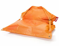 district17 fatboy buggle up orange outdoor beanbag beanbags