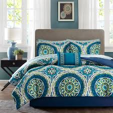 Green And Gray Comforter Bedroom Teal Gray Bedding Teal Dog Bed Teal Twin Bed Grey And