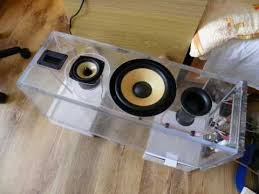 How To Build A Speaker Cabinet Making The 3 Way Speakers Transparent Box Youtube