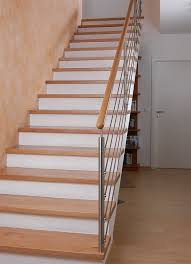 buche treppe betontreppen mit holz kliegl treppenbau
