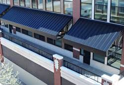 Architectural Metal Awnings Commercial Metal Awnings U0026 Canopies Canopy Replacement Outdoor