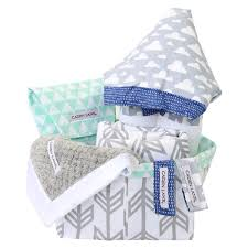 baby baskets baby shower gift baskets caden tagged gray arrow