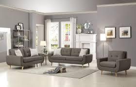 living room groups homelegance deryn sofa set polyester grey 8327gy sofa set