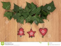 wooden christmas decorations stock image image 33976991
