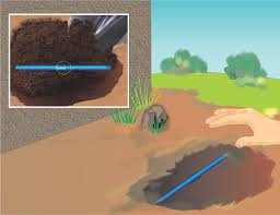 how to repair a broken sprinkler line 10 steps with pictures