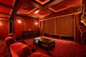Velvet Home Theater Curtains Beautiful Velvet Curtains Target With Home Theater Bar