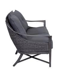 Rattan Two Seater Sofa Beachcomber Two Seater Sofa Embellish Imports