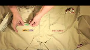 Arrow Of Light Patch How To Boy Scout Shirt Youtube