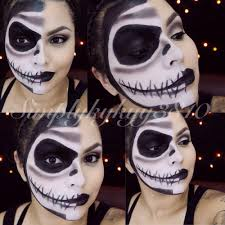 jack skellington makeup halloween pinterest jack skellington