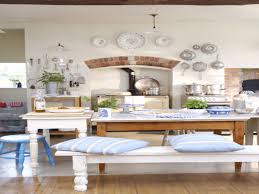 country style kitchen tables with bench bench decoration