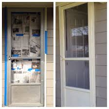 storm door with screen and glass rescue that ugly but custom sized storm door scrub it clean