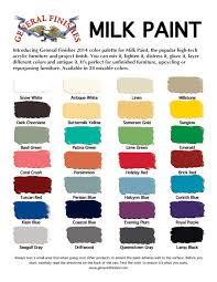 general finishes milk paint color chart 28 colors for furniture