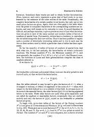 descriptive survey f theory of numbers guide to tables in the
