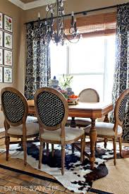 Zebra Dining Chair Dimples And Tangles My Thoughts On Cowhide Rugs