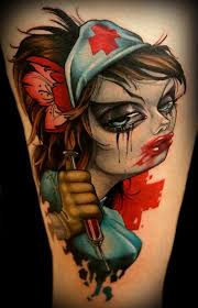 20 nurse tattoo images pictures and inspirational ideas