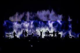 check out these photos of nine inch nails u0027 astounding tour visuals