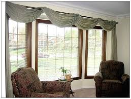 Living Room Window Treatment Ideas 38 Best Bay Window Ideas Curtains And Rods Images On Pinterest