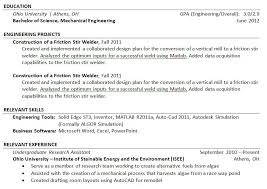 Software On Resume What To Put On Resume With No Work Experience What To Put On