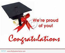 we re proud of you congratulations on your graduation