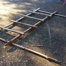 how to make a bamboo trellis