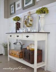 Entry Way Tables by Entryway Table Decor An Antique Pedestal Table In The Foyer Sets