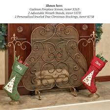 christmas stocking holders for fireplace binhminh decoration