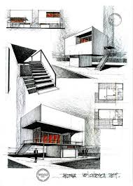 House Architecture Drawing 456 Best Sketching Rendering U0026 Architectural Drawings Images On