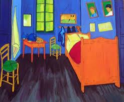 tableau de gogh la chambre la chambre de vincent 2004 mon book