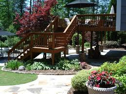 landscaping ideas to transform the area around your deck