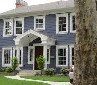 dark blue exterior paint colors home exteriors in category