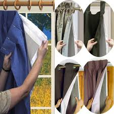 Blackout Curtains Liner Blackout Curtain Liners