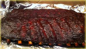 smoked pork ribs using it u0027s my rub