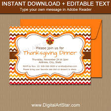 thanksgiving invitation template eliolera