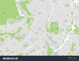 Madrid Map Vector Map City Madrid Stock Vector 320502389 Shutterstock