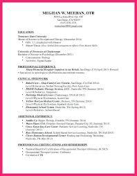 respiratory therapist resume objective occupational therapy assistant resume objective examples