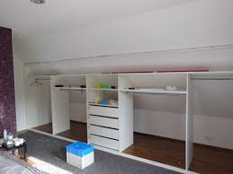 jugendzimmer dachschräge einbauschrank in eimsbüttel unter einer dachschräge mit niedriger