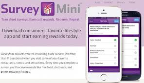 survey for gift cards survey mini app how i got free 10 fil a gift card
