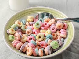 bowl of fruit loops youtube