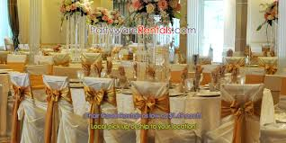 rent linens for wedding chair cover rentals wedding chair covers rental wholesale