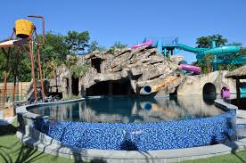 private client u0027s backyard water park mummy cave the scarefactory
