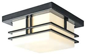 flush mount craftsman lighting craftsman ceiling light modern two light outdoor flush mount ceiling