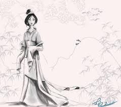 image gallery mulan drawings