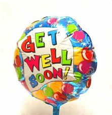 get well soon and balloons get well soon balloon green goddess florist