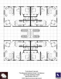 Apartment Complex Floor Plans by Modern Floorplans Nightclub Fabled Environments Modern