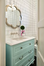 American Classics Bathroom Vanities by Bathroom With Turquoise Vanity And Shiplap Walls Rub A Dub Dub