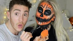 my best friend does my halloween makeup meg says youtube