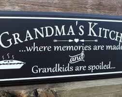 Meme Grandmother Gifts - grandmother sign etsy