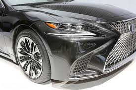 lexus ls top speed the all new 2018 lexus ls 500h gets revealed in geneva autoevolution