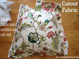 Cushion Covers For Dining Room Chairs How To Recover A Dining Room Chair Easily Celebrating Everyday